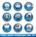 Funny Smiles Collection Royalty Free Stock Images
