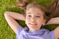 Funny smiling little girl Royalty Free Stock Photo