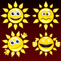 Funny Sun #1 Stock Photos