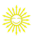 Funny sun Royalty Free Stock Image