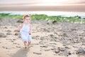 Funny Toddler Girl Running At ...