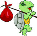 Funny turtle Royalty Free Stock Photo