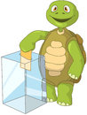 Funny Turtle. Election. Royalty Free Stock Photo