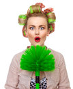 Funny woman Royalty Free Stock Photo