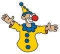 Funny yellow goof Royalty Free Stock Photo