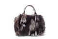 Fur bag Royalty Free Stock Photo