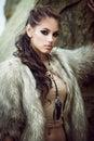 Fur coat and flash tattoos