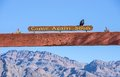 Furnace Creek,Death Valley Royalty Free Stock Photo