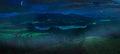 Furnas Lake at night Royalty Free Stock Photo