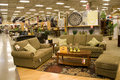 Furniture and home decor store a big supermarket selling decors Royalty Free Stock Photography