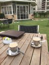 Furniture, Table, Outdoor Structure, Deck