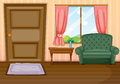 Furnitures inside the house Royalty Free Stock Photo