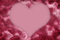 Furry Valentine Background Royalty Free Stock Images