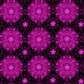 Fuschia floral pattern beautiful seamless bright background Royalty Free Stock Photo