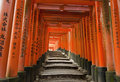 Fushimi Inari Fotografie Stock Libere da Diritti