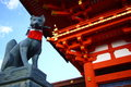 Fushimi Inari Shrine in Japan Royalty Free Stock Image