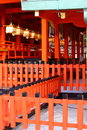 Fushimi Inari Shrine in Japan Royalty Free Stock Photography
