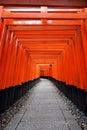 Fushimi inari shrine kyoto japan in Stock Photo