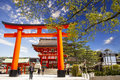 Fushimi inari taisha japan a famous tourist destination in japan Stock Photography