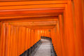 Fushimi inari taisha shrine in kyoto japan Stock Photo