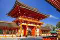 Fushimi inari taisha shrine kyoto japan for adv or others purpose use Royalty Free Stock Photos