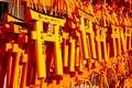 Fushimi inari taisha shrine kyoto japan for adv or others purpose use Stock Photos