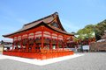 Fushimi inari taisha shrine kyoto prefecture japan famous shinto shrine Stock Images