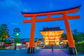 Fushimiinari taisha shrinetemple in kyoto japan Stock Photos