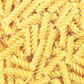 Fusilli pasta Royalty Free Stock Photo