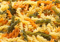 Fusilli pasta background Royalty Free Stock Photos