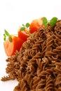 Fusilli twirls pasta Stock Image