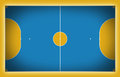 Futsal court Royalty Free Stock Photo