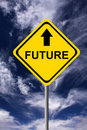 Future ahead Stock Images