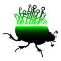 Future beetle creative design of Royalty Free Stock Photography