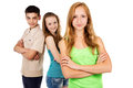 Future generation youth young people isolated Royalty Free Stock Photo