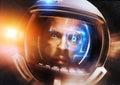 Future Scientific Astronaut Royalty Free Stock Photo