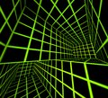 Futuristic  3d render tiled labyrinth Royalty Free Stock Photography