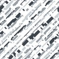 Futuristic Camouflage Vector Seamless Pattern