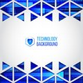 Futuristic high computer technology business background.