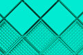 Futuristic industrial background made from blue square shapes