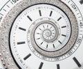 Futuristic Modern White Clock ...