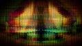 Futuristic Screen Display Pixels 10476