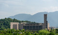 Fuzhou university s library the is located in Royalty Free Stock Images