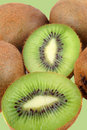Fuzzy kiwi fruits Royalty Free Stock Photography