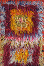 Fuzzy textile a colorful background Royalty Free Stock Photo