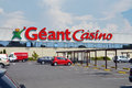 Géant Casino hypermarket Royalty Free Stock Photo