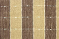 Görat randig brunt tyg texturerar för bakgrund Royaltyfri Bild
