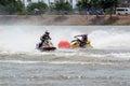 G shock jetski pro tour thailand internationa chaiyaphum province july action during the international watercross grand prix on Stock Images