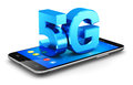 5G wireless communication technology concept
