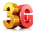 3G wireless technology logo Royalty Free Stock Photo